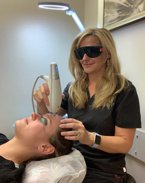 The Clear + Brilliant system is a laser skin resurfacing treatment that is designed to help reverse or prevent the earliest signs of aging. WCosmetic Surgery, Philadelphia, PA